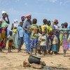 Des personnes déplacées au Burkina Faso ont trouvé refuge dans un camp de la ville de Pissila, au nord-est du pays.