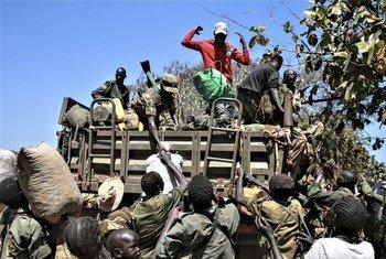 Wanajeshi wa vikosi vya upinzani nchini Sudan Kusini vikianza safari ya kwenda kuungana na wanajeshi wa jeshi la ulinzi la taifa hilo, SSPDF ikiwa ni sehemu ya utekelekezaji wa makubaliano ya amani ya mwezi Septemba mwaka 2018.