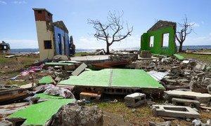Los fenómenos meteorológicos extremos están devastando muchos países, entre ellos Fiji, que fue azotado por el ciclón Winston en 2016.