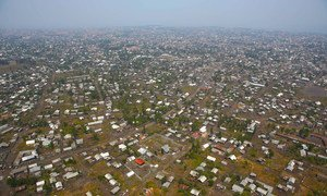 Goma, capital of North Kivu in the Democratic Republic of the Congo.