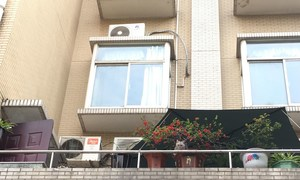 武汉某住宅楼的公寓外景