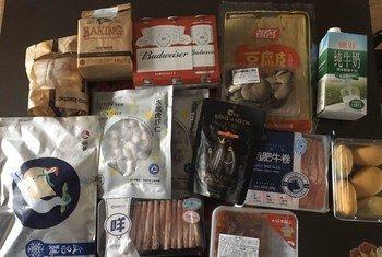 Dizi, residente en Wuhan, compró comida sin saber que iba a estar dos meses confinada en casa de sus padres.