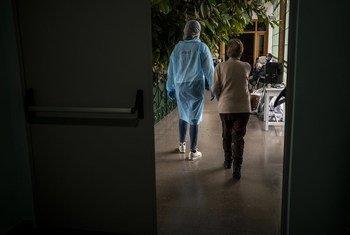 Intervenção em lar de idosos em Espanha