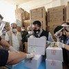 """叙利亚通过""""新冠疫苗获取机制""""获得首批25万剂新冠疫苗."""