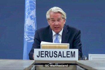 Le Coordinateur spécial des Nations Unies pour le processus de paix au Moyen-Orient, Tor Wennesland, informe (par vidéoconférence) le Conseil de sécurité de la situation au Moyen-Orient, notamment de la question palestinienne