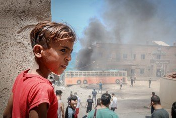 За 11 дней мая в секторе Газа было убито 63 ребенка.