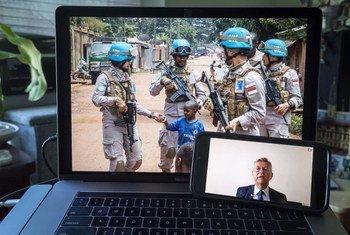 """Lacroix pediu muita atenção aos efeitos """"desastrosos"""" da situação de segurança no Sahel para o resto da região."""
