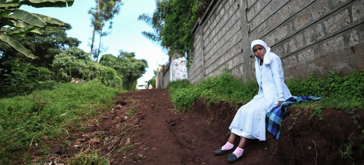 A Shona woman is one of an estimated 18,500 stateless people currently living in Kenya.