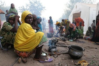 WFP says 41 million people around the world, including in Nigeria (pictured) are at imminent risk of famine.