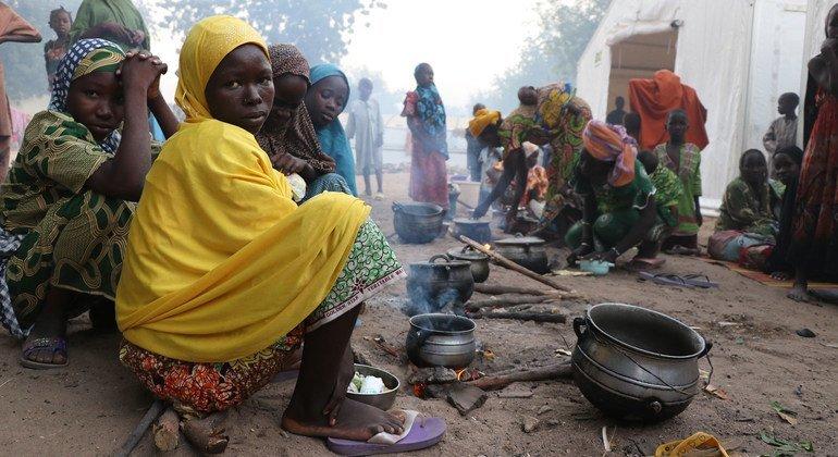WFP imesema watu Milioni 41 duniani, ikiwemo Nigeria ( Kwenye Picha) wapo kwenye Hatari ya kukumbwa na baa la njaa