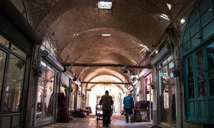 Zanjan Bazaar in Iran