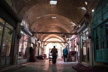 زنجان في إيران.