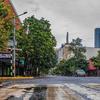 Le centre-ville de Nairobi, la capitale du Kenya, pendant la pandémie de Covid-19