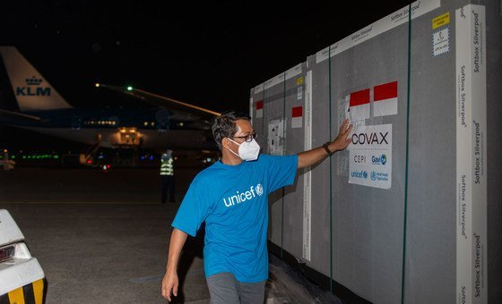 The archetypal  COVID-19 vaccines provided nether  the COVAX  Facility arrived successful  Indonesia successful  March, 2021.