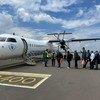 मानवीय राहत यात्री विमान ने इथियोपिया की राजधानी अदीस अबाबा से टीगरे के लिये उड़ान भरी.