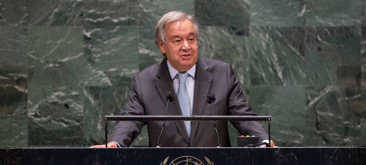 Генеральный секретарь ООН Антониу Гутерриш выступил в ходе общеполитической дискуссии на 75-й сессии Генеральной Ассамблеи.