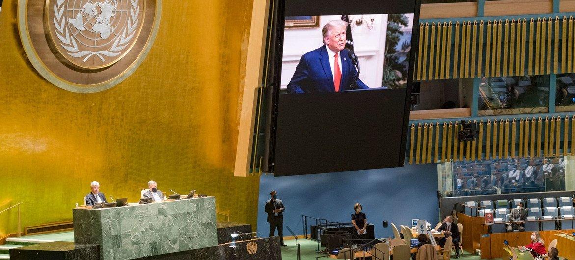 Presidente Donald Trump destacou avanços no Oriente Médio