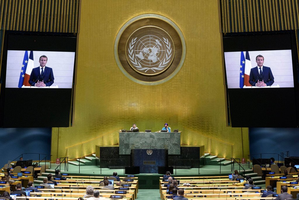 Covid 19 Pandemic Should Be Shock To Un Revive Multilateral Order France S Macron Tells World Leaders Un News