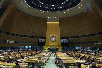 联合国大会第75届会议一般性辩论在纽约联合国总部拉开帷幕。