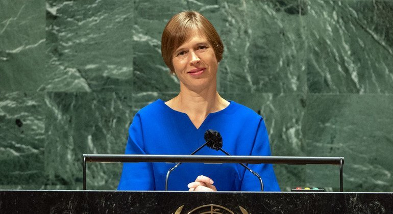 'Through the tears, solutions for a better society have sprung up': Estonian President