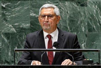 Presidente de Cabo Verde, Jorge Carlos De Almeida Fonseca, na 76a Assembleia Geral