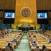 Президент Казахстана Касым-Жомарт Токаев выступил на 76-й сессии Генеральной Ассамблеи ООН.