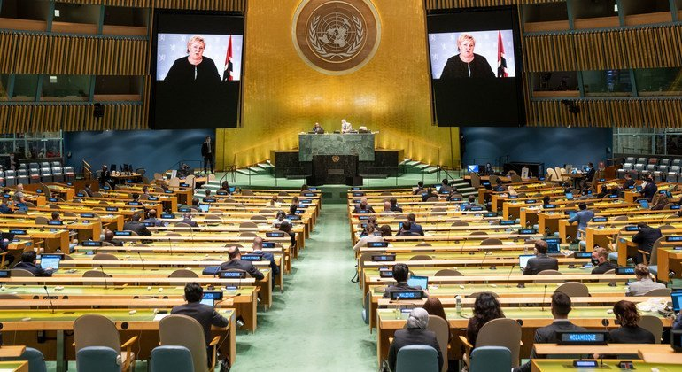 International community must harness momentum created by triple crises and act, says Norway