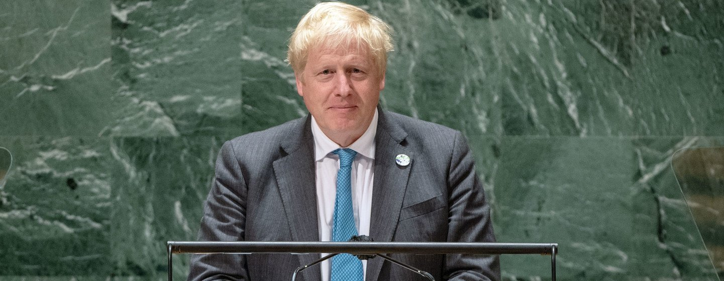 'The adolescence of humanity is coming to an end', declares UK Prime Minister
