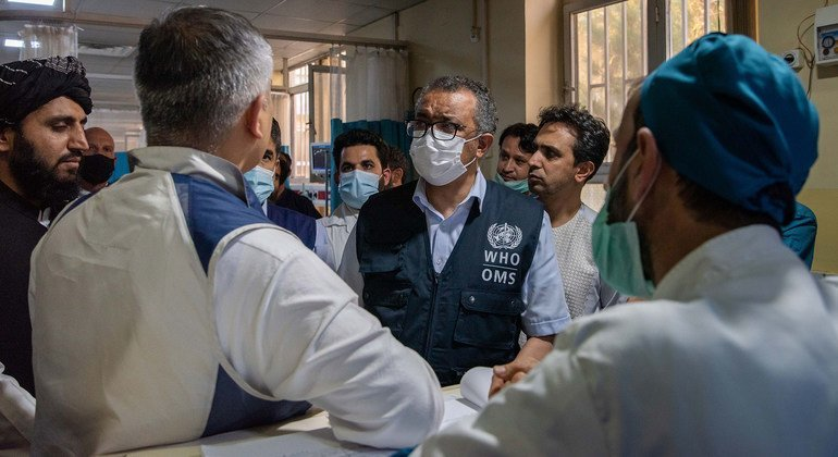 Afghanistan's health care system on brink of collapse: Tedros