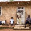 刚果民主共和国布滕博(Butembo)一个受埃博拉影响的家庭。