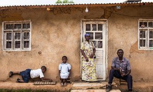 An Ebola-affected family in Butembo, Democratic Republic of the Congo.