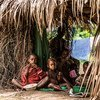 Children in the Republic of the Congo.