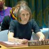 美国常驻联合国代理副代表谢里斯·诺曼·沙莱资料图片