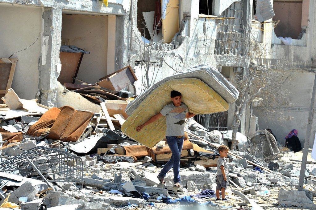 Le PAM fournit une aide immédiate aux familles prises dans l'urgence à Gaza