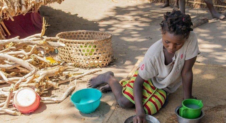 ONU destaca drama de meninas e mulheres no meio da violência em Cabo Delgado