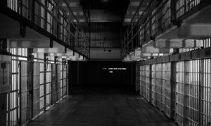 Prison cells at former Alcatraz Penitentiary in San Francisco, California. (file)