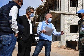 यूनीफ़िल के भारतीय शान्तिरक्षकों ने शीबा के दक्षिण-पूर्वी लेबनानी गाँव में नए रेड क्रॉस हेल्थ सेंटर के निर्माण का पहला चरण पूरा कर लिया है.