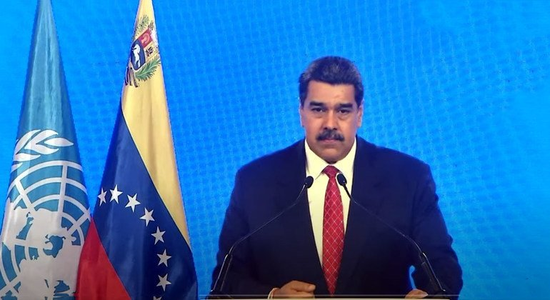 Venezuela demands the end of sanctions and urges leaders to build a 'new world'