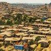 Hakimpara refugee camp in Cox's Bazar, Bangladesh.