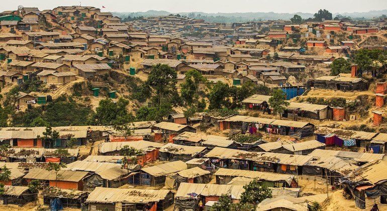 Thousands of Rohingya refugees are living in Hakimpara refugee camp in Cox's Bazar, Bangladesh.