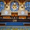 Les juges de la Cour internationale de Justice, à La Haye, examinent l'affaire portée par la Gambie contre le Myanmar.
