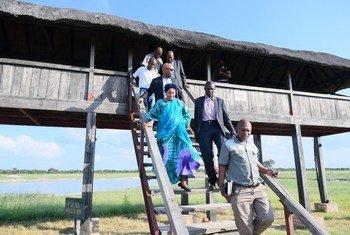 2020年2月23日,联合国副秘书长阿米娜·穆罕默德(Amina Mohammed)在津巴布韦万基国家公园进行访问,以了解气候变化对栖息地、野生动植物和人类的影响。