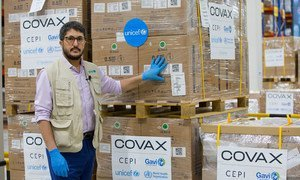 UNICEF has begun shipping syringes for the global rollout of COVID-19 vaccines under COVAX.