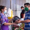 People affected by Tropical Storm Amanda in El Salvador have received cash transfers enabling them to buy food supplies.