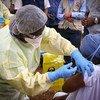 Chanjo ya Ebola yaanza nchini Guinea ili kuzuia mlipuko mpya.