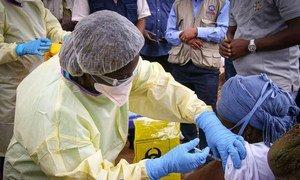 La vaccination contre le virus Ebola a commencé mercredi dans la province du Nord-Kivu, en République démocratique du Congo, où un cas a été confirmé le 8 octobre.