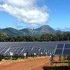 美国夏威夷的考艾岛公用事业合作社太阳能设施