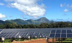 La Cooperativa de Servicios Públicos de la Isla de Kauai, una planta solar ubicada en el estado de Hawai, en los Estados Unidos.