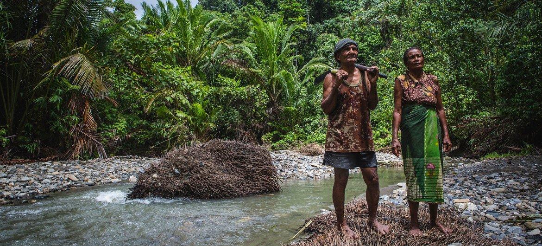 En Indonésie, beaucoup de gens dépendent de la biodiversité pour leur subsistance.