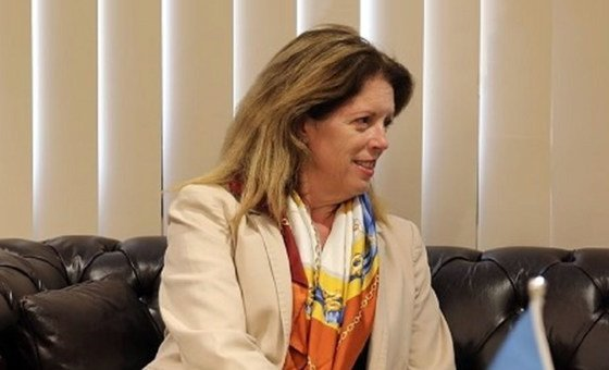 Stephanie Turco Williams, Acting Special Representative and Head of the United Nations Support Mission in Libya (UNSMIL).